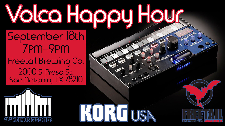 Korg Volca Happy Hour!