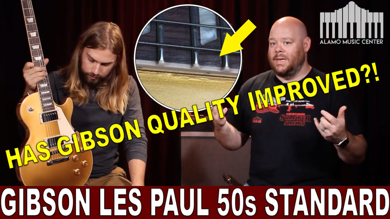 The new Gibson Les Paul 50s Standard - Has Gibson quality improved?