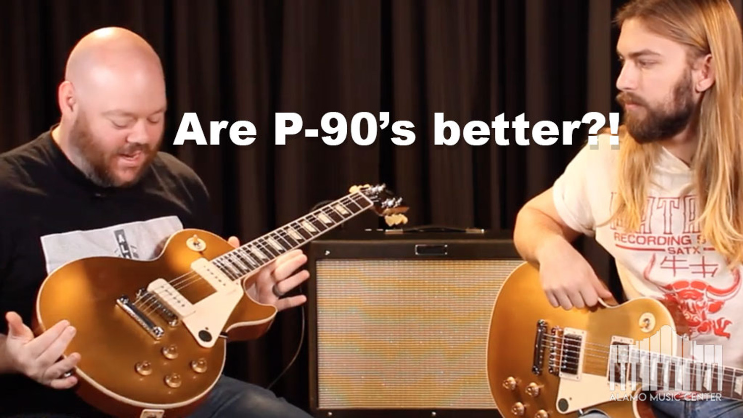 Gibson Les Paul Standard 50s P-90 the better options