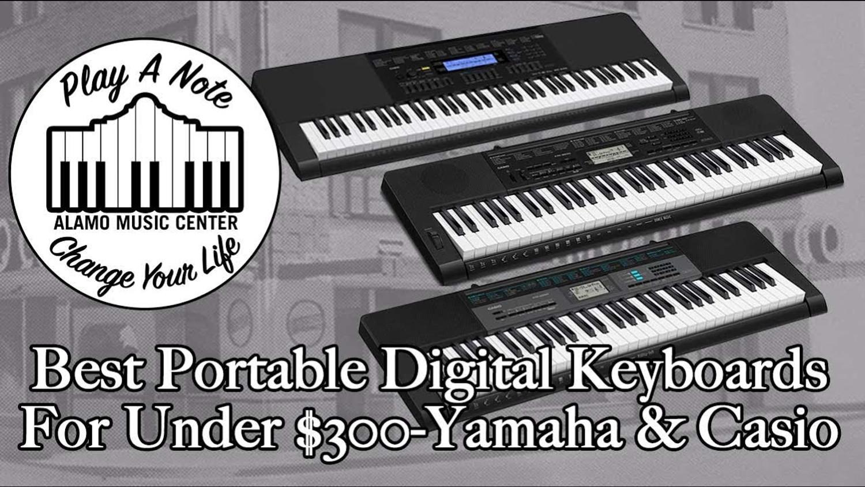 Best Portable Digital Keyboards For Beginners Under $300