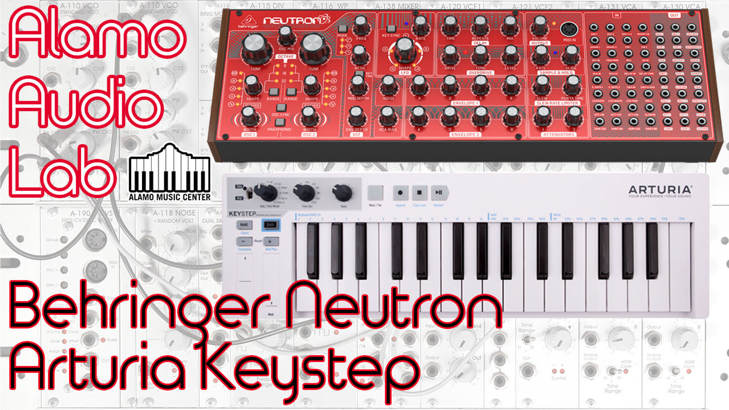 Behringer Neutron & Arturia Keystep - The Best Analog Synth and Controller Combo?