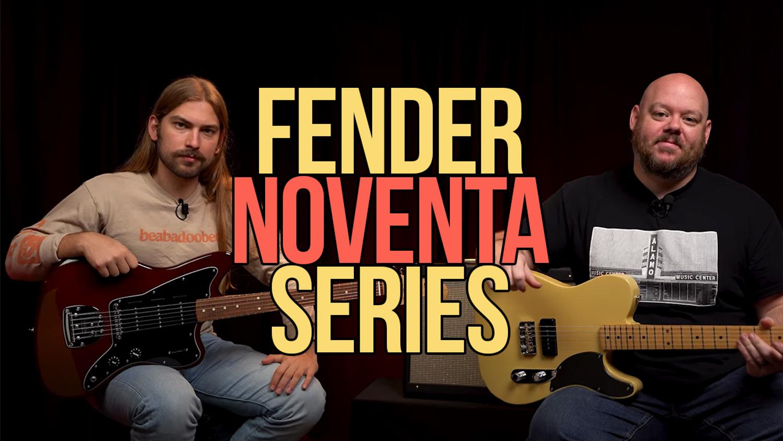 Fender Noventa Telecaster and Jazzmaster | P-90 Power!