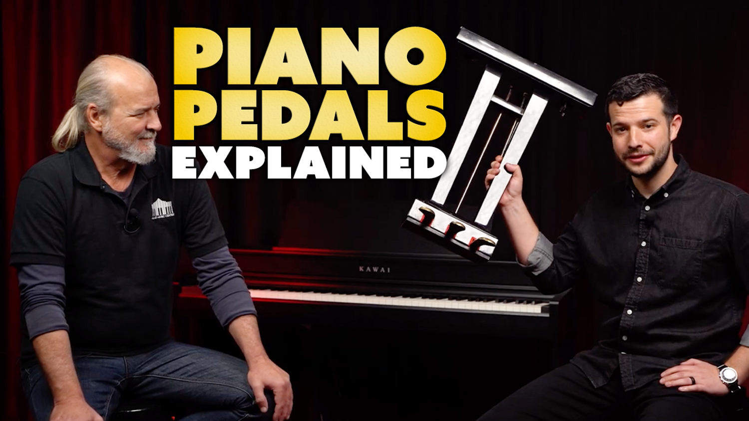 Piano Pedals Explained