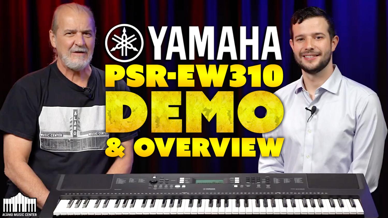 SERIOUS Beginner Keyboard - Yamaha PSR-EW310 - DEMO and Overview