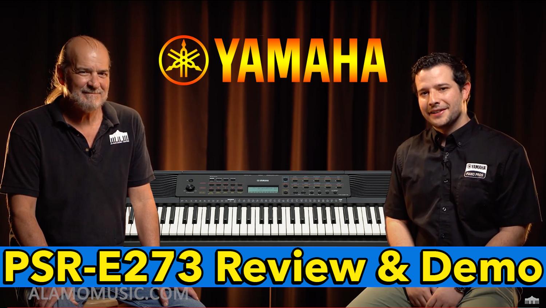 The Best Beginner Keyboard of 2020? Yamaha PSR-E273 61-key Portable Keyboard Review & Demo