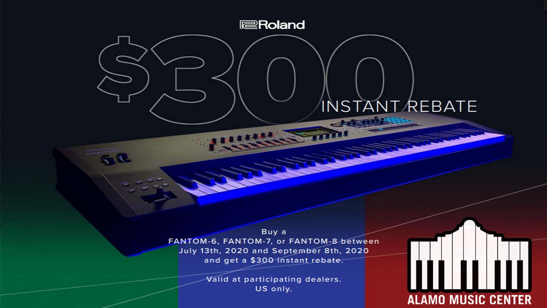 Roland Fantom $300 Instant Rebate