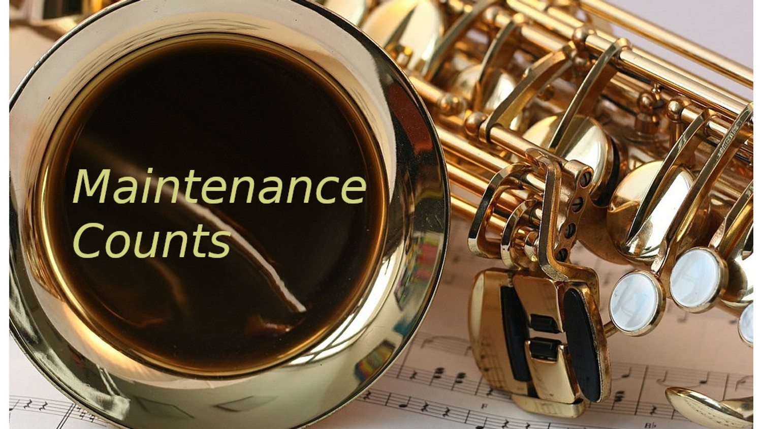 Six reasons you should maintain your instrument.