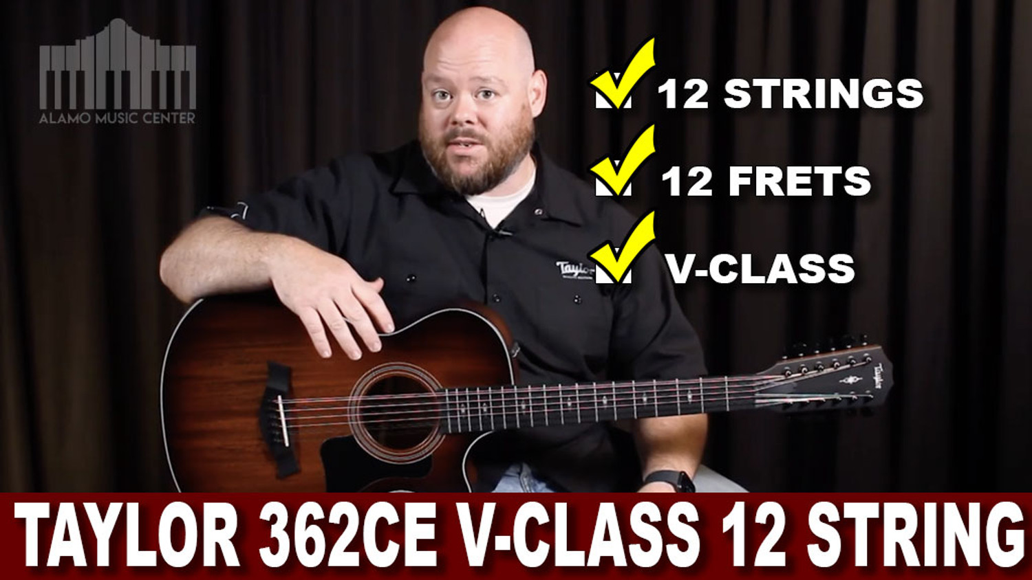 Taylor Guitars' 362ce Review | 12 strings, 12 frets and V-class Bracing