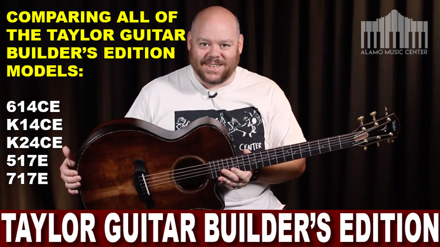 Taylor Guitars Builder's Edition Comparison. Amazing Guitars! Which one is right for you?!