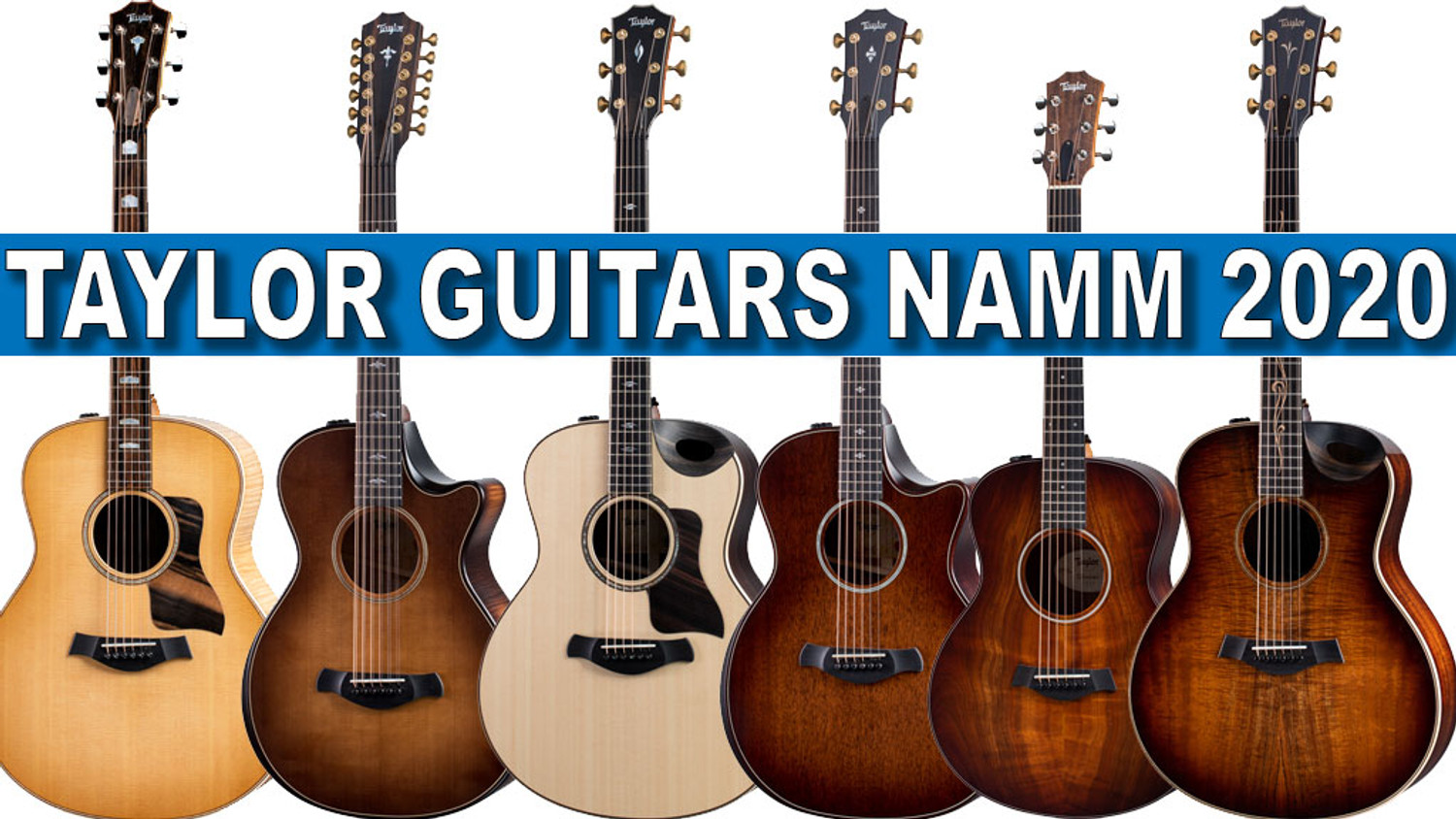 New at NAMM 2020 from Taylor Guitars! | Alamo Music Center