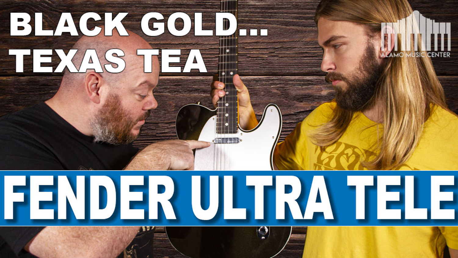 Fender American Ultra Telecaster In depth Review - Black Gold... Texas Tea!