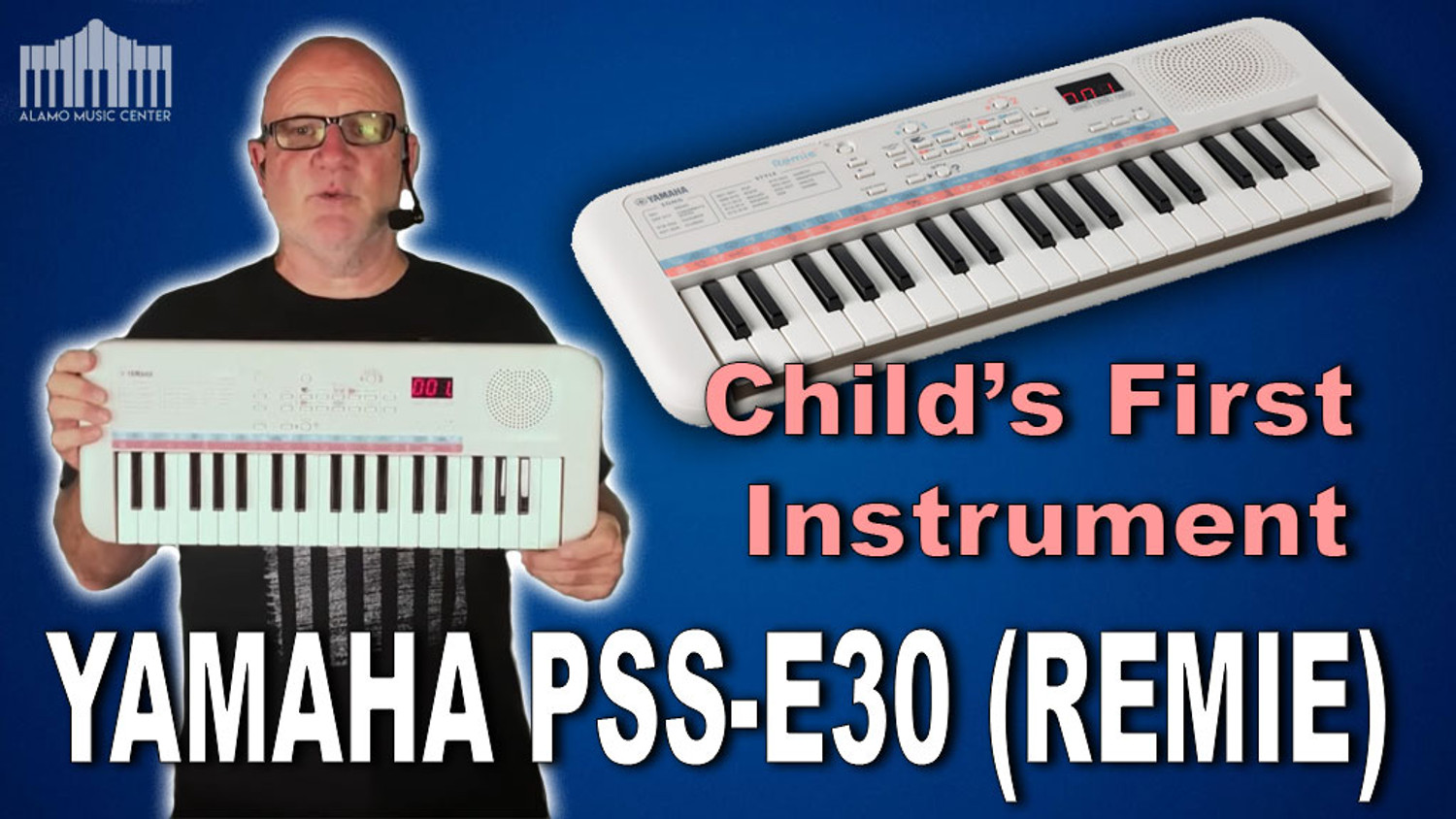 Yamaha REMIE PSS-E30 Portable Keyboard | The Happy Keyboard for Children