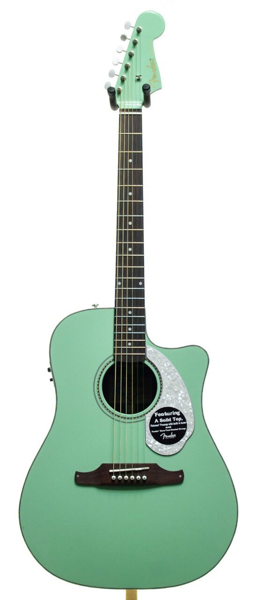 Fender Sonoran Sce Acoustic Electric Guitar Surf Green Alamo Music