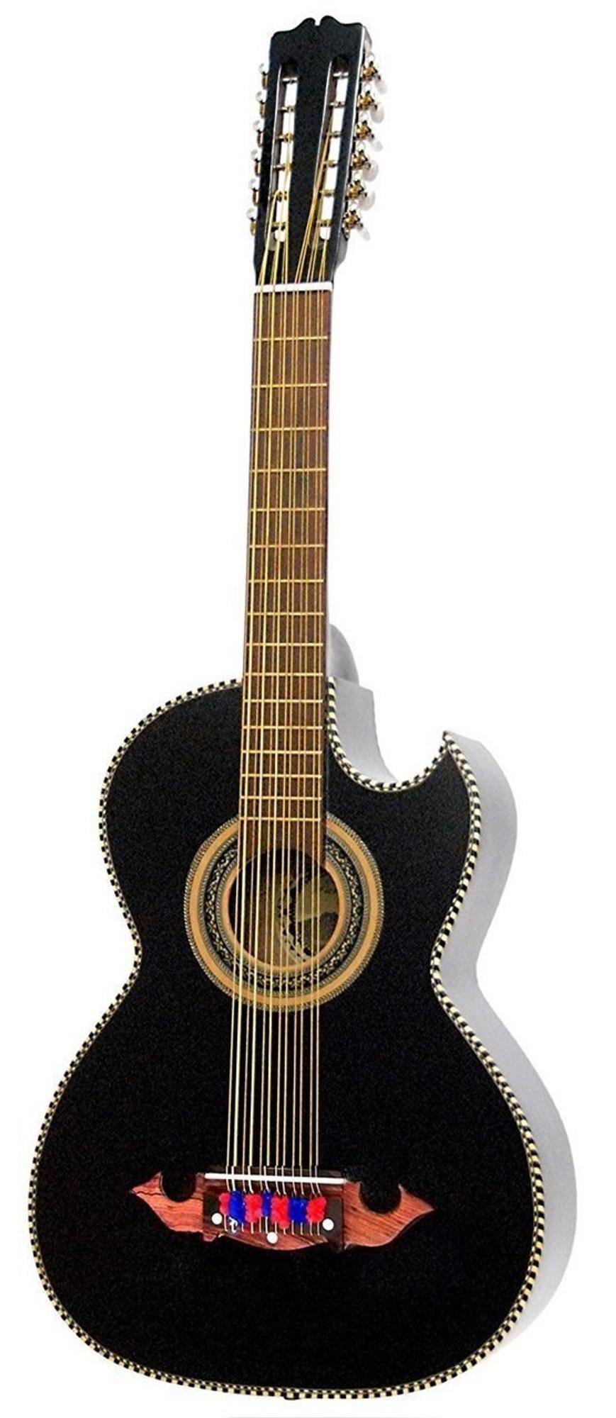 alpha-grp.co.jp PARACHO BAJO SEXTO BLACK Musical Instruments Steel ...