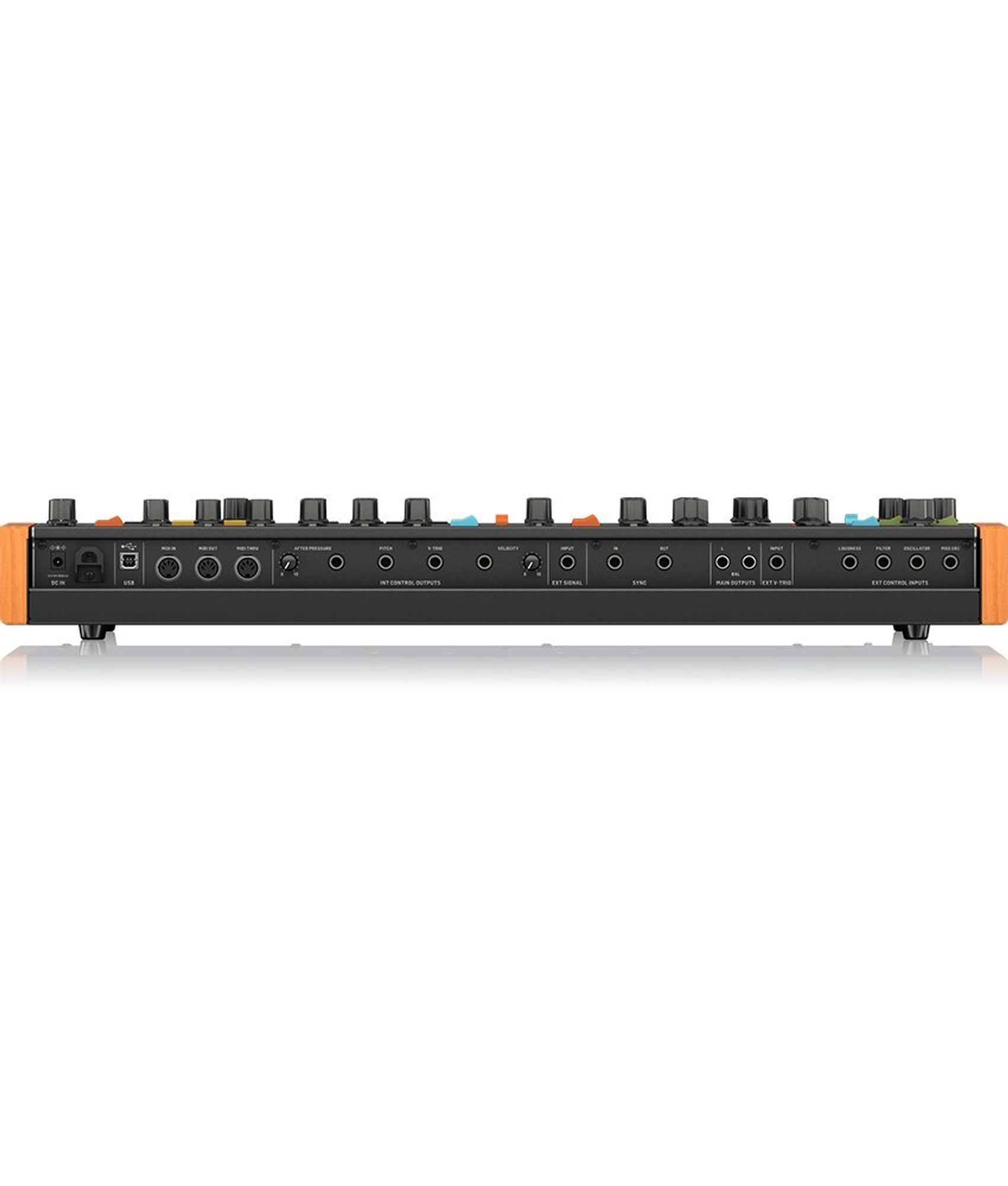 Behringer Poly D Polyphonic Analog Synthesizer Alamo Music Control panel is well laid out, with the added bonus of being able to tilt it towards you. behringer poly d polyphonic analog synthesizer