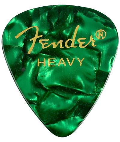 12 Fender HEAVY Black Moto Celluloid 351 Guitar//Bass Picks 098-0351-943