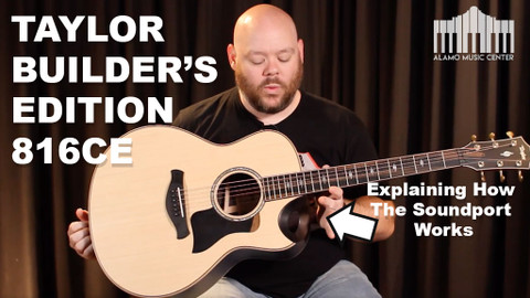 Taylor Builder's Edition 816ce | In depth Review with Taylor's Most Interesting New design