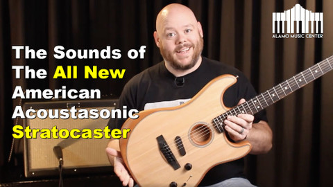 The Fender Acoustasonic Stratocaster | Breaking down all the tones and positions
