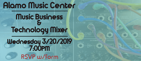 Music Business and Technology Mixer - Analog Synths