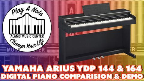 Yamaha Arius YDP 144 & 164 Digital Piano Comparison and Demo - The Best Budget Digital Keyboards
