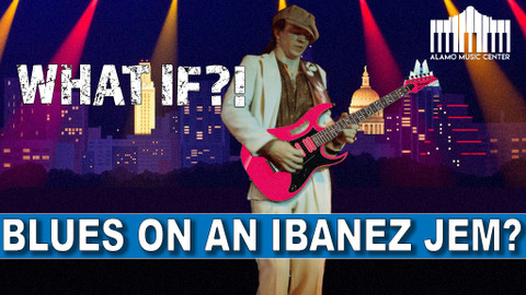What If?! | Playing Blues on an Ibanez JEM? What Would SRV Do?