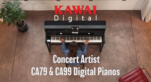 Kawai Concert Artist CA99 & CA79 Digital Pianos
