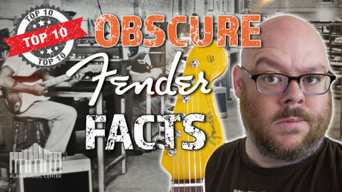 Top 10 Obscure Facts about Fender Guitars!