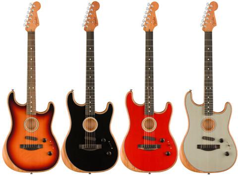 Fender Unveils the American Acoustasonic Stratocaster