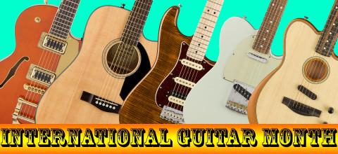 International Guitar Month 2019