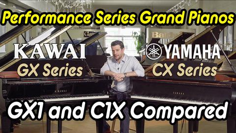 Kawai GX1 vs Yamaha C1X - Performance Series Grand Pianos Compared