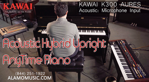 Kawai K300 AURES Hybrid Acoustic Upright - The Best STUDIO Piano on the Market?