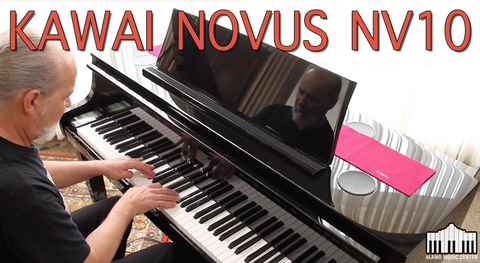Kawai NOVUS NV10 Hybrid Digital Piano Review - How Does It Sound and Feel?