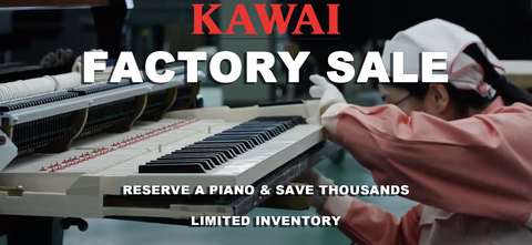 Kawai Factory Direct Pianos