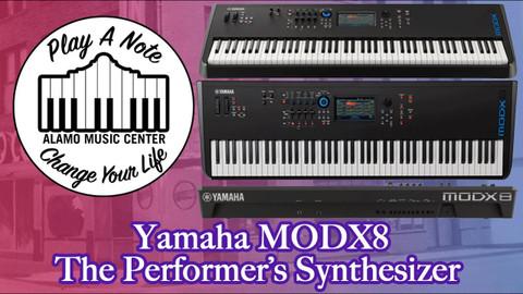 Yamaha MODX8 Performance Synthesizer - Demo/Tutorial