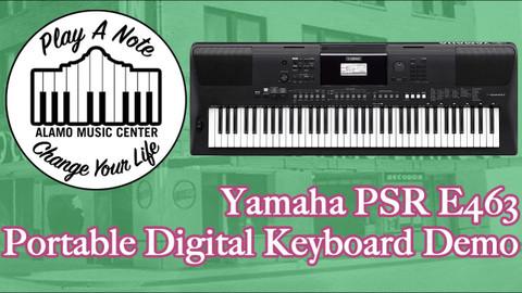 Yamaha PSR E463 - The Best Entry Level Keyboard?