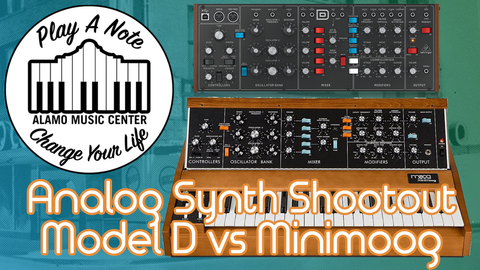Can You Hear the Difference? Behringer's Model D vs Minimoog!