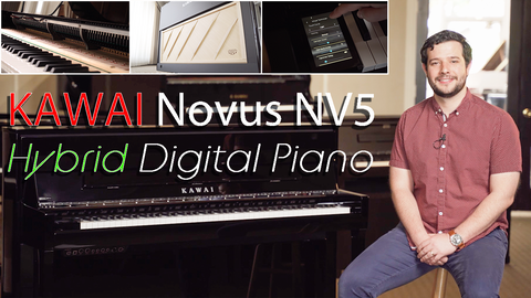 Should I buy Acoustic? Should I buy Electric? - YES! - Kawai NV5 Hybrid Piano Review & Demo