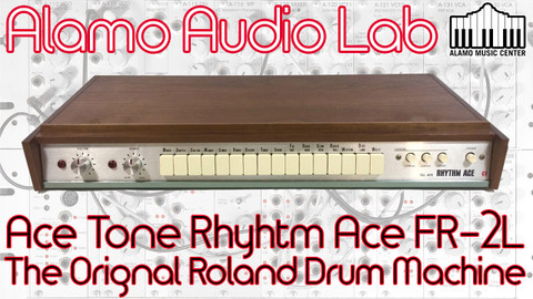 The Original Roland Analog Drum Machine!
