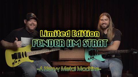 Fender Limited Edition HM Strat Demo & Review | A Heavy Metal Classic Comes Back