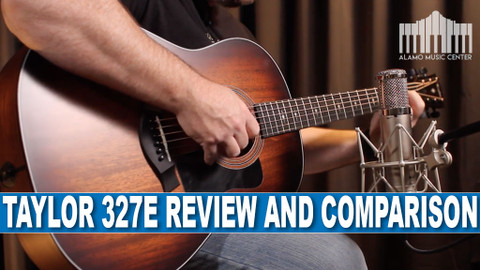 Taylor Guitars 327E Grand Pacific vs. the 317E | Full Guitar Review and Comparison