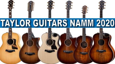 New at NAMM 2020 from Taylor Guitars!