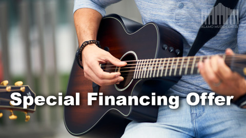 Special Financing on Taylor Guitars and Synchrony Financial
