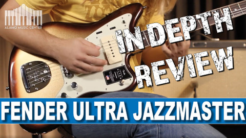 FENDER AMERICAN ULTRA JAZZMASTER REVIEW | In Depth Review of the Mocha Burst Beauty!