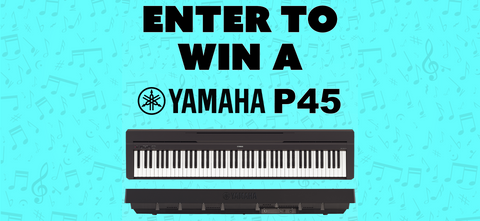 Win a Yamaha P-45 Digital Piano