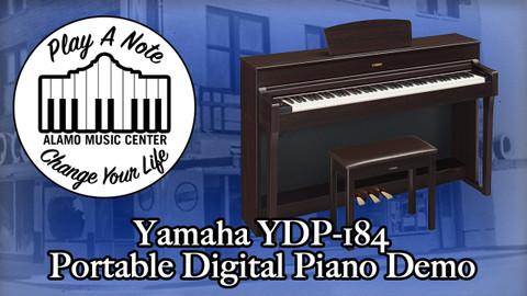 Yamaha Arius YDP 184 Portable Digital Piano Demo
