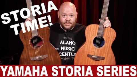 It's STORIA Time! | Yamaha Storia Series Acoustic Guitars
