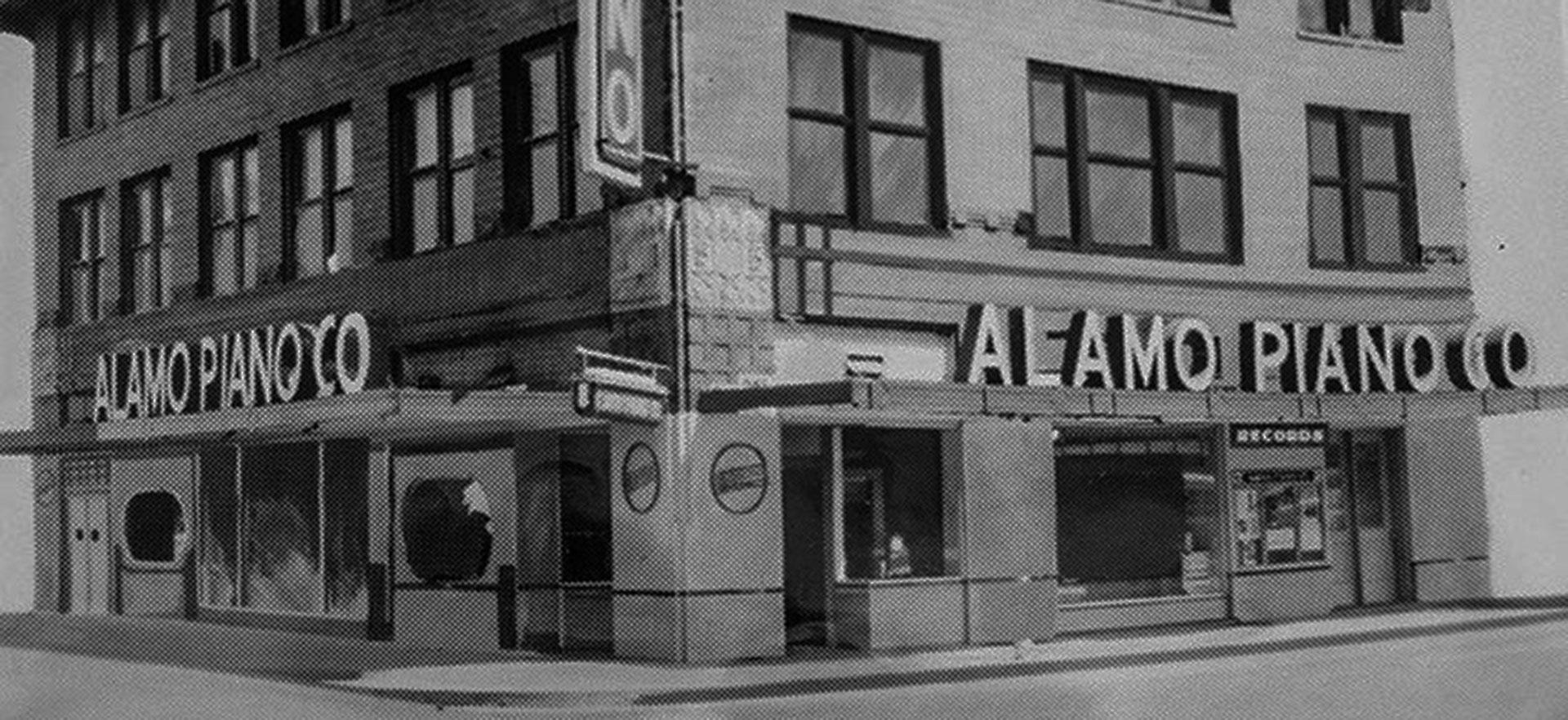 Alamo Music Center Facade