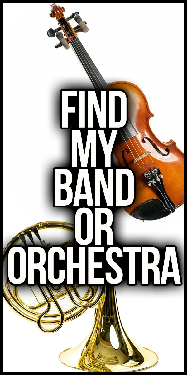 Link To Find My Band or Orchestra Form