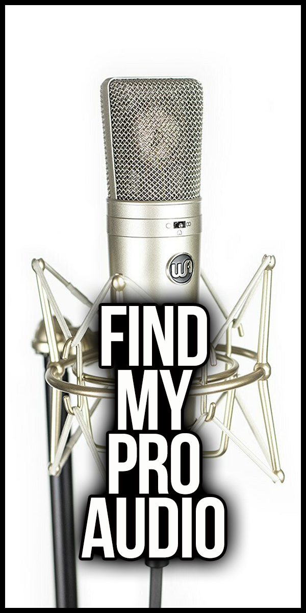 Link to Find My Pro Audio Form