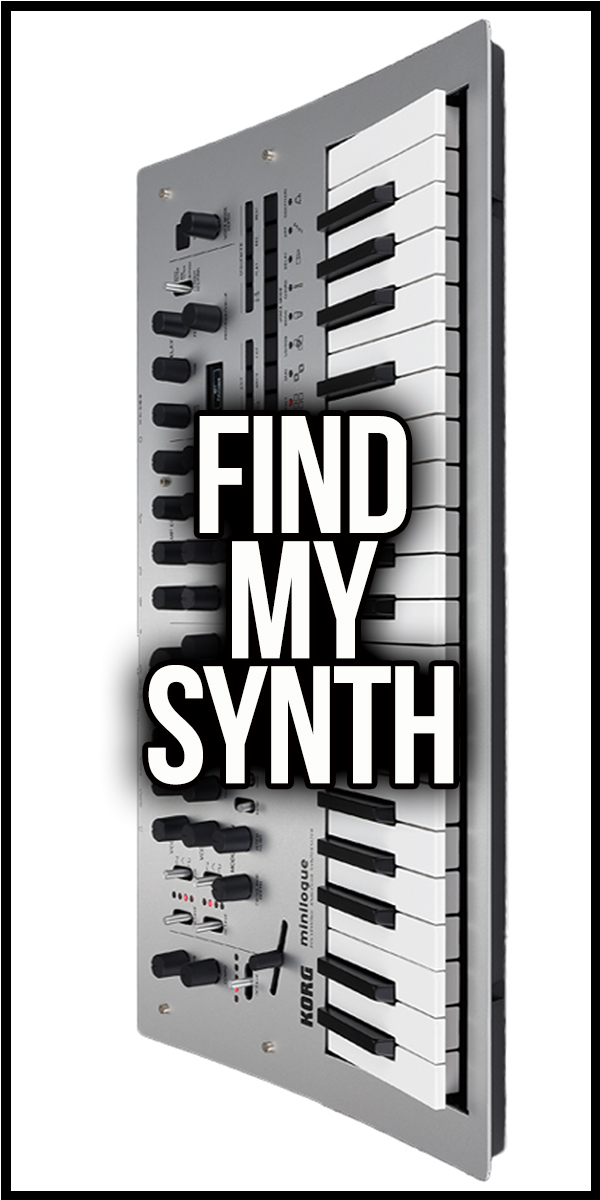 Link To Find My Synth Form